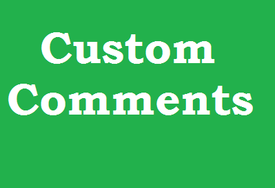 Instantly Get 35+ YouTube Custom Comments 1-5 Hours