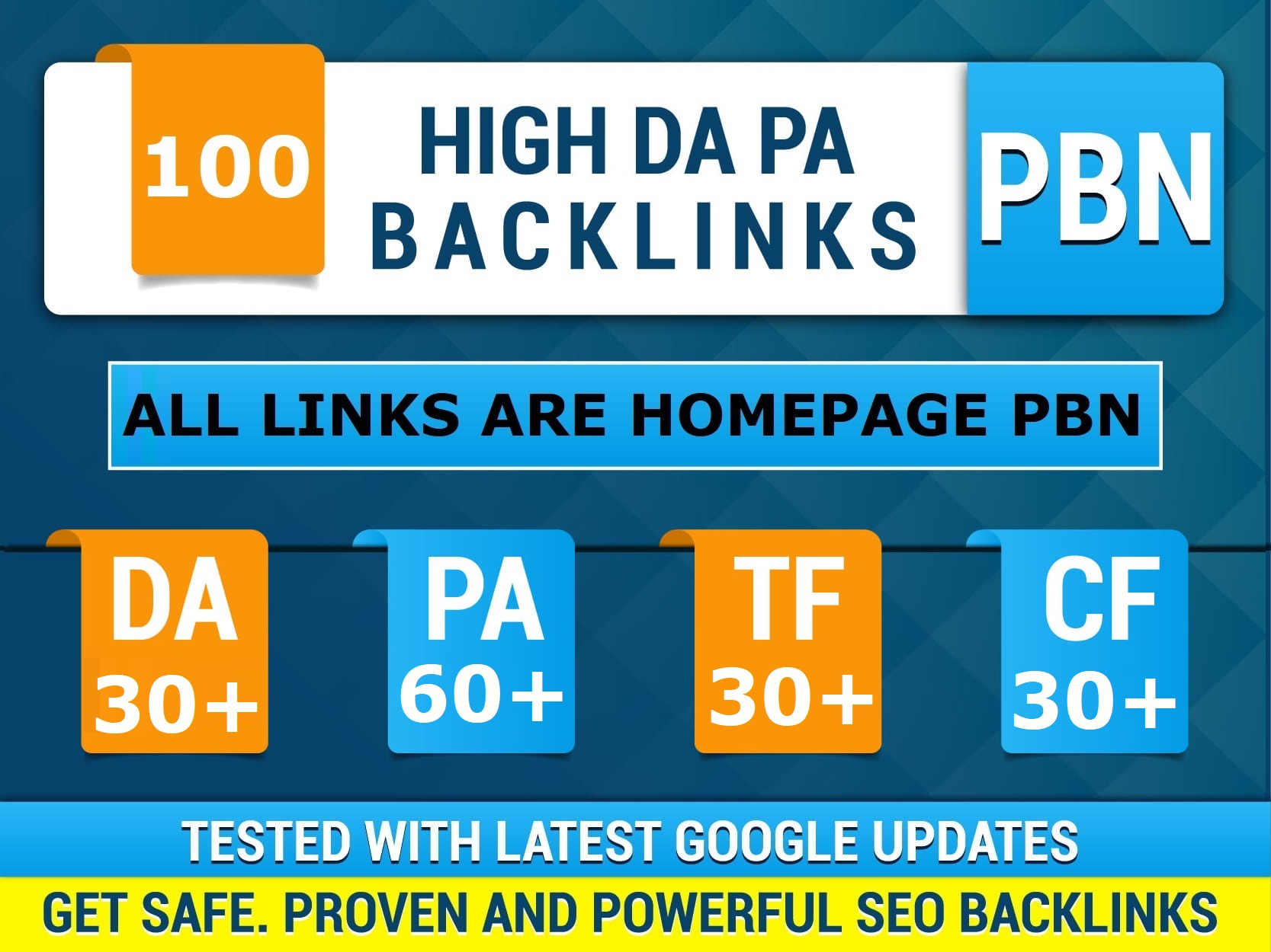 100 Permanent High Quality PA 60+ DoFollow PBN Links