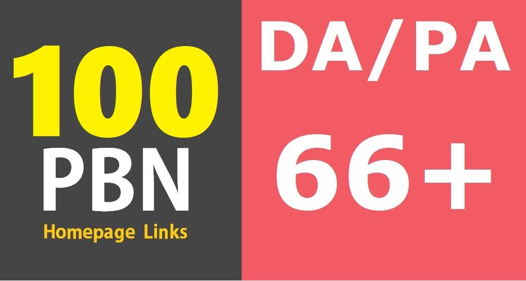 100 DA/PA 50-20 Permanent High Quality DoFollow PBN Links