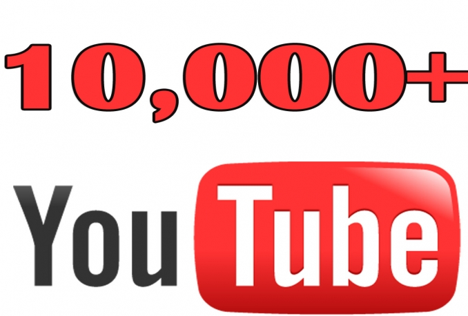 Get 10,000 to 12,000 Real You/tube Vie ws Very Fast Delivery