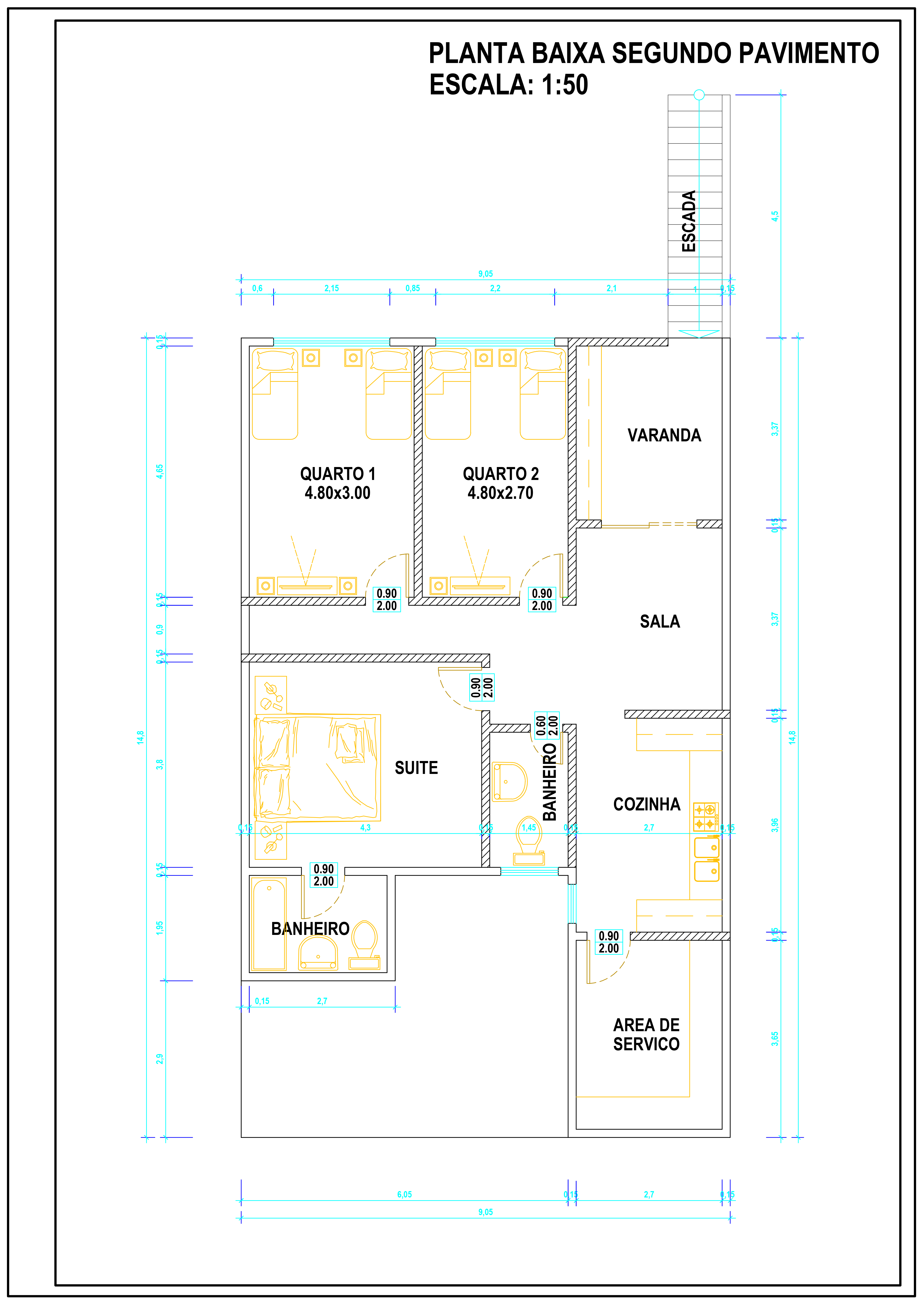 Architectural Floor Plan Design