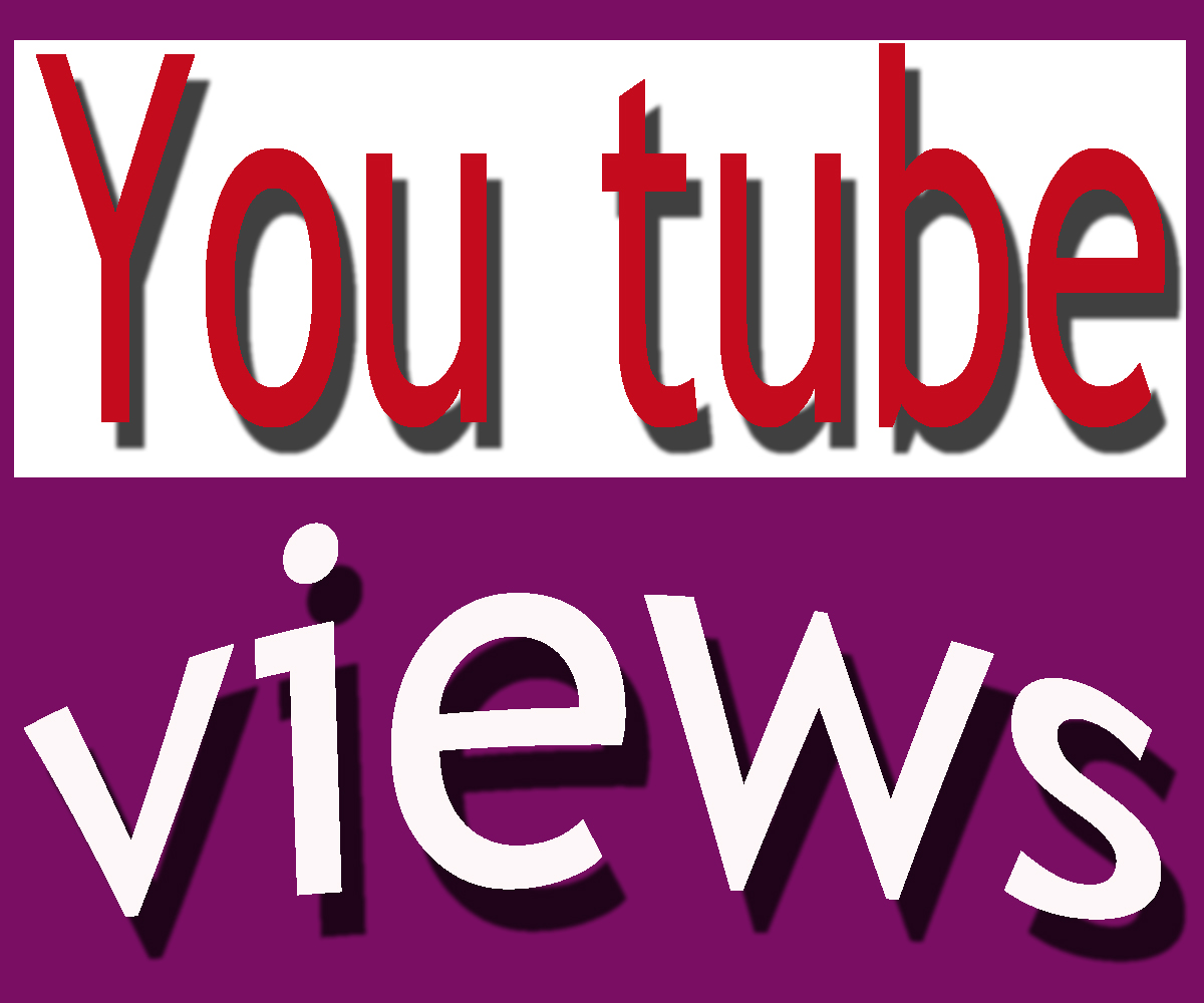Add 100000+ non drop guarantee you ....tube video views with in 7-12 days