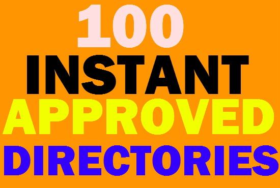 I will Submit Live 100 Approved Effective Directory Submission backlinks