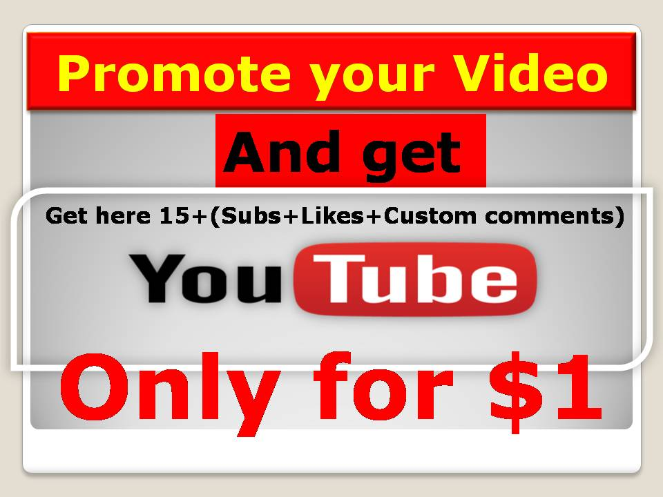 Promote your video and get Real Traffic with fast delivery