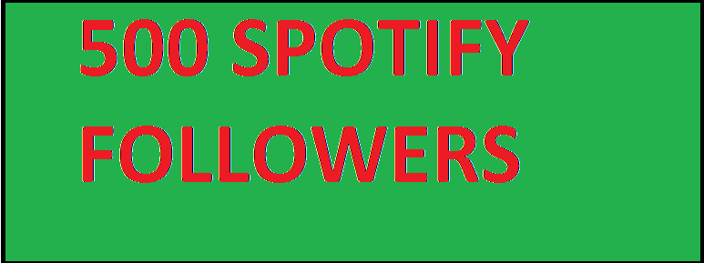 Get 500 Spotify Followers