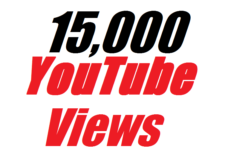 Offer 15,000 Real Y0U Tube Video Vi ews very fast completed