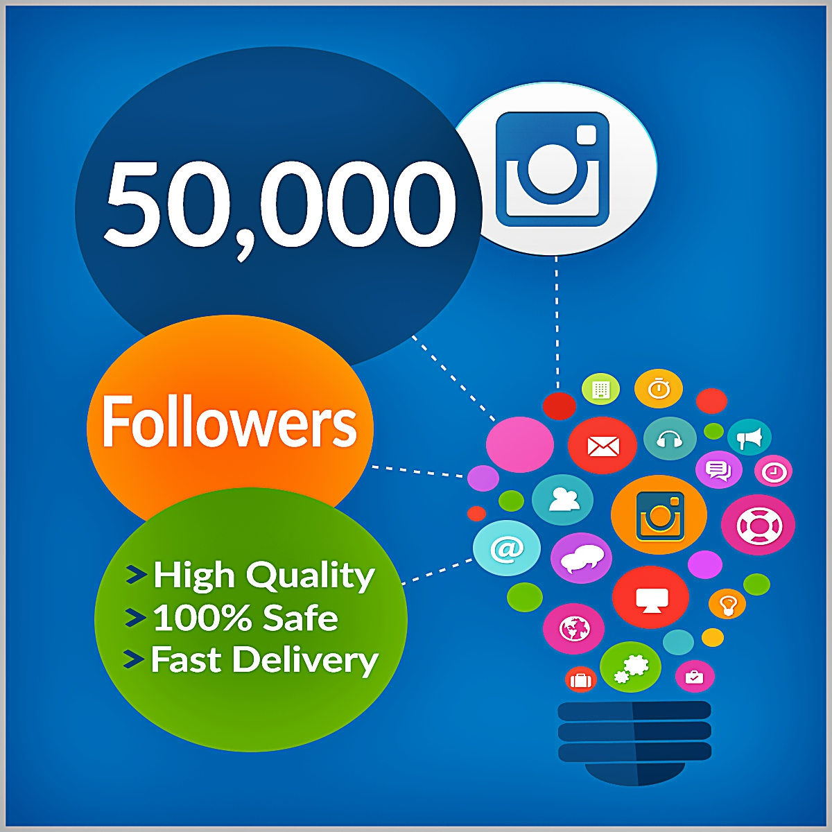 7,000 Instagram followers Or Likes Or 7,000 Twitter Followers with 1 Days