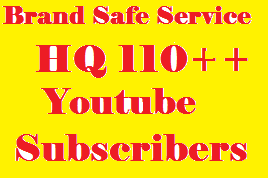 BRAND Service. Safe Fast 500  YouTube Real Subscribers + BONUS only
