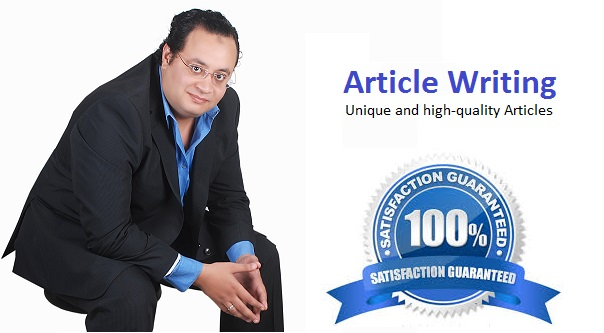 I will write 2 articles for your blog or website