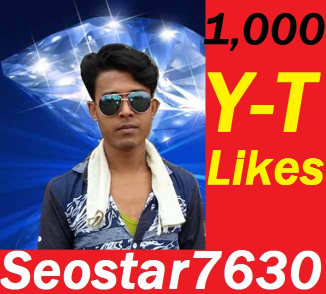 Real 1,000+youtube video Likes or 7.000+ good retention + splitable youtube views 24=72 hours Completed only
