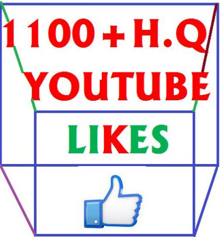 1100+ High Quality  youtube likes  very short times