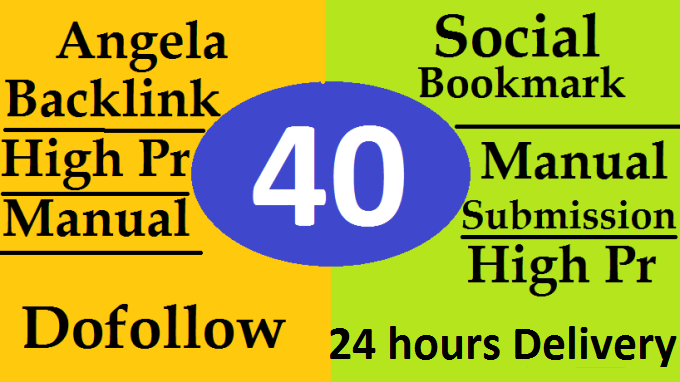 40 High Pr Do follow Profile Backlinks