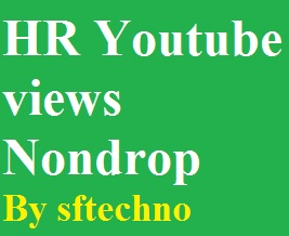 High retention 1000+ youtube views non-drop guarantee