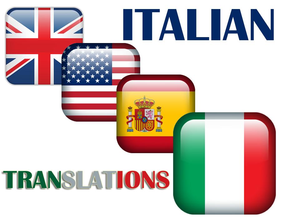 Italian Translation English To Italian: Italian English Translations