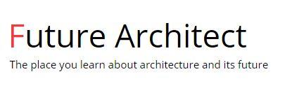 Advertise with a unique Architecture website Future Architect