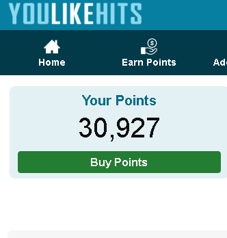 Youlikehits ONE account with 32000 points