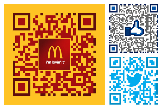 I will design a creative QR code with your logo on it
