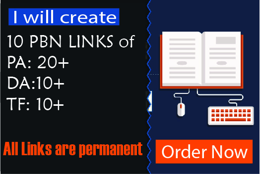 I will create 10 Wordpress PBN Links Trust Flow 20
