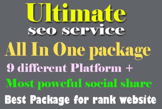Build 100+ Dofollow High DA 60+ Highly Modified Seo Backlinks