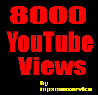Give you 8000 High Retention YouTube views in 24 hour