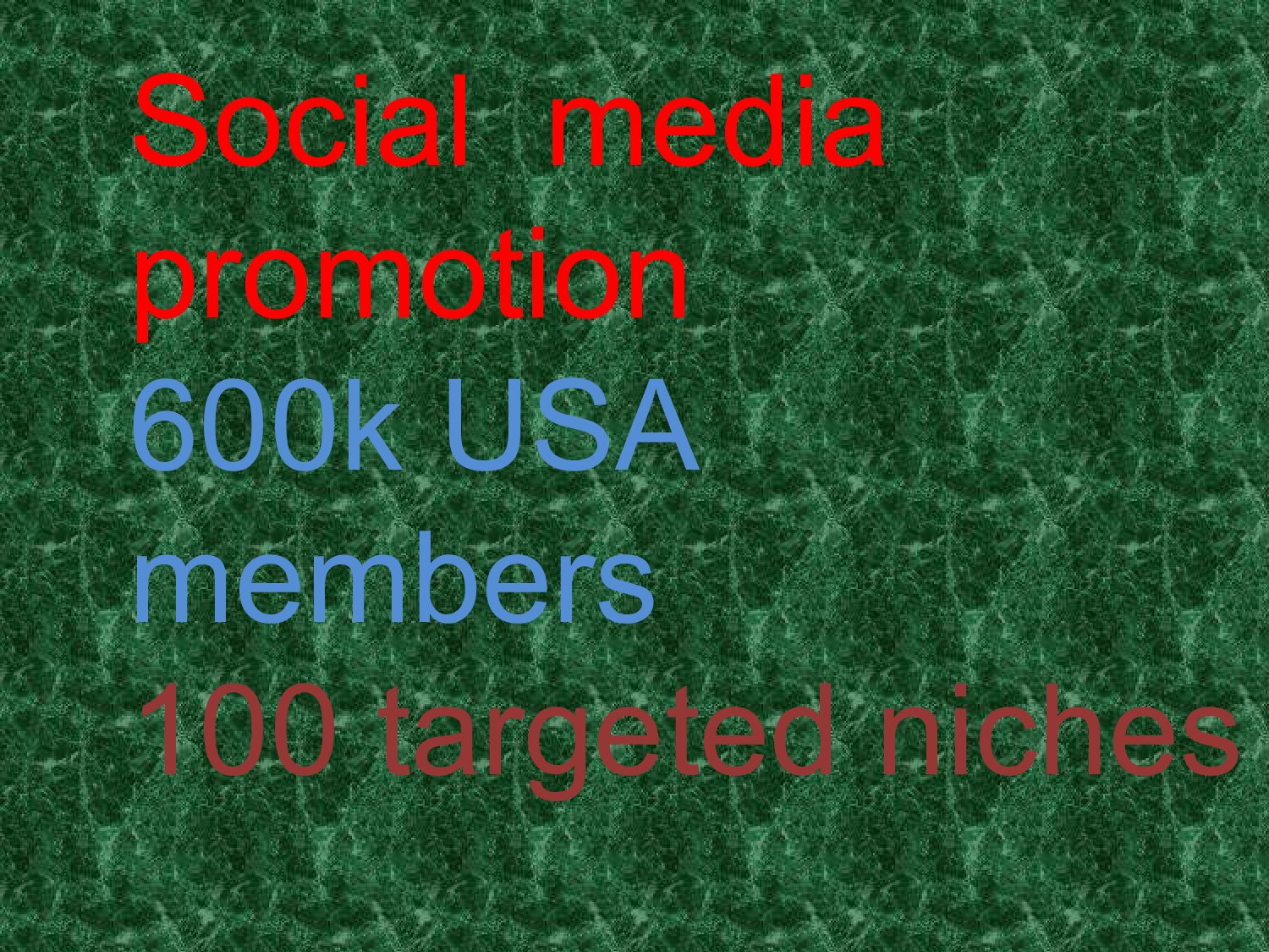 I will marketing your website to social members