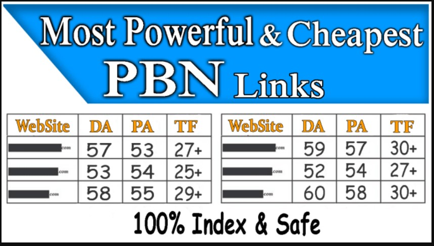 40 Permanent HomePage Hiqh Quality PBN Backlinks