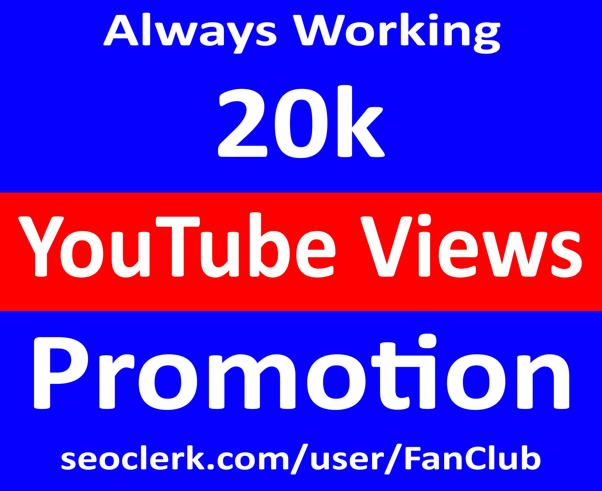 Quick YouTube Video Marketing Promotion Service