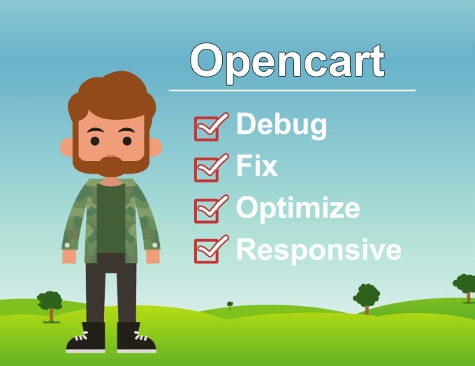 I will fix OpenCart Bugs, Errors or Issues for