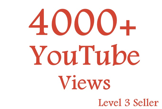 Get Promotion OF 7000++ High Retension YouTube Video Views