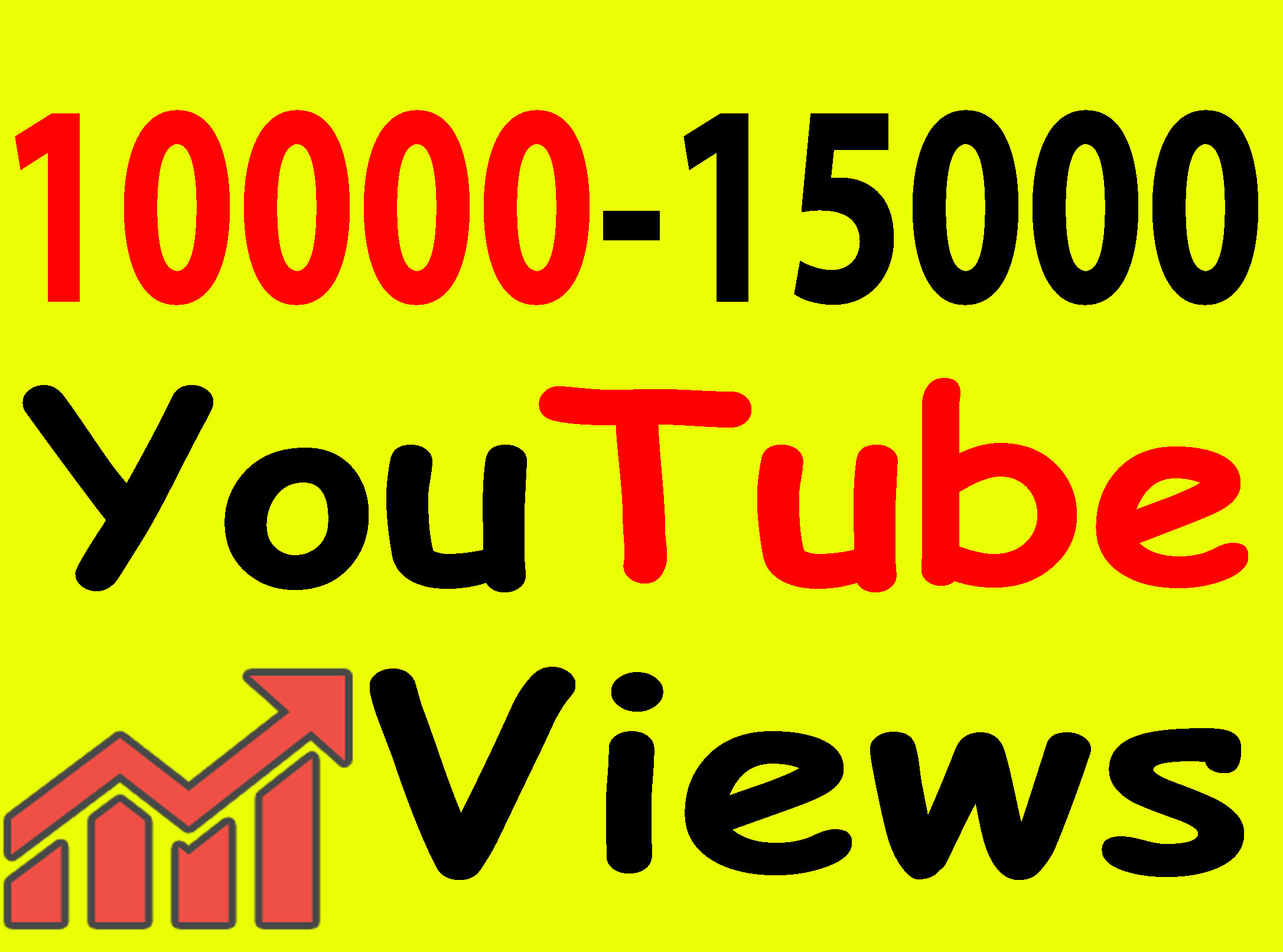Give 10,000 To 15,000 Views High Retention 90 To 99% Non-Drop Lifetime Guarantee