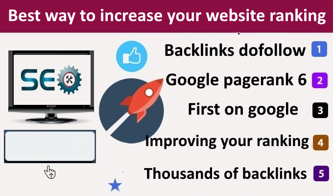 add your backlink dofollow backlinks on website pagerank 6