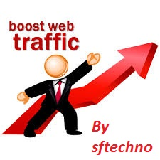 Unlimited Organic Traffic to your Site/Blog for 30 days from Several Social Media's