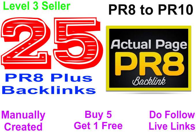 Create 30PR8 Do Follow SEO backlinks for your website
