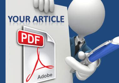 Upload and promote your document in 20 PDF sharing websites