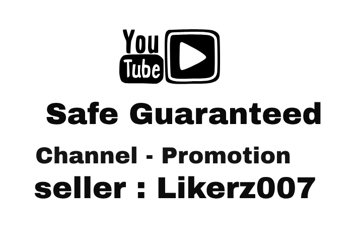 Receive Real and Organic For Channel Promotion With Safe Guaranteed