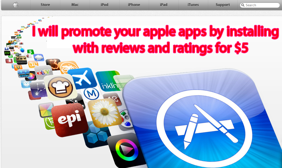 I have great experience apps promoting by download
