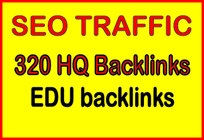 Provide 320 .EDU high quality backlinks