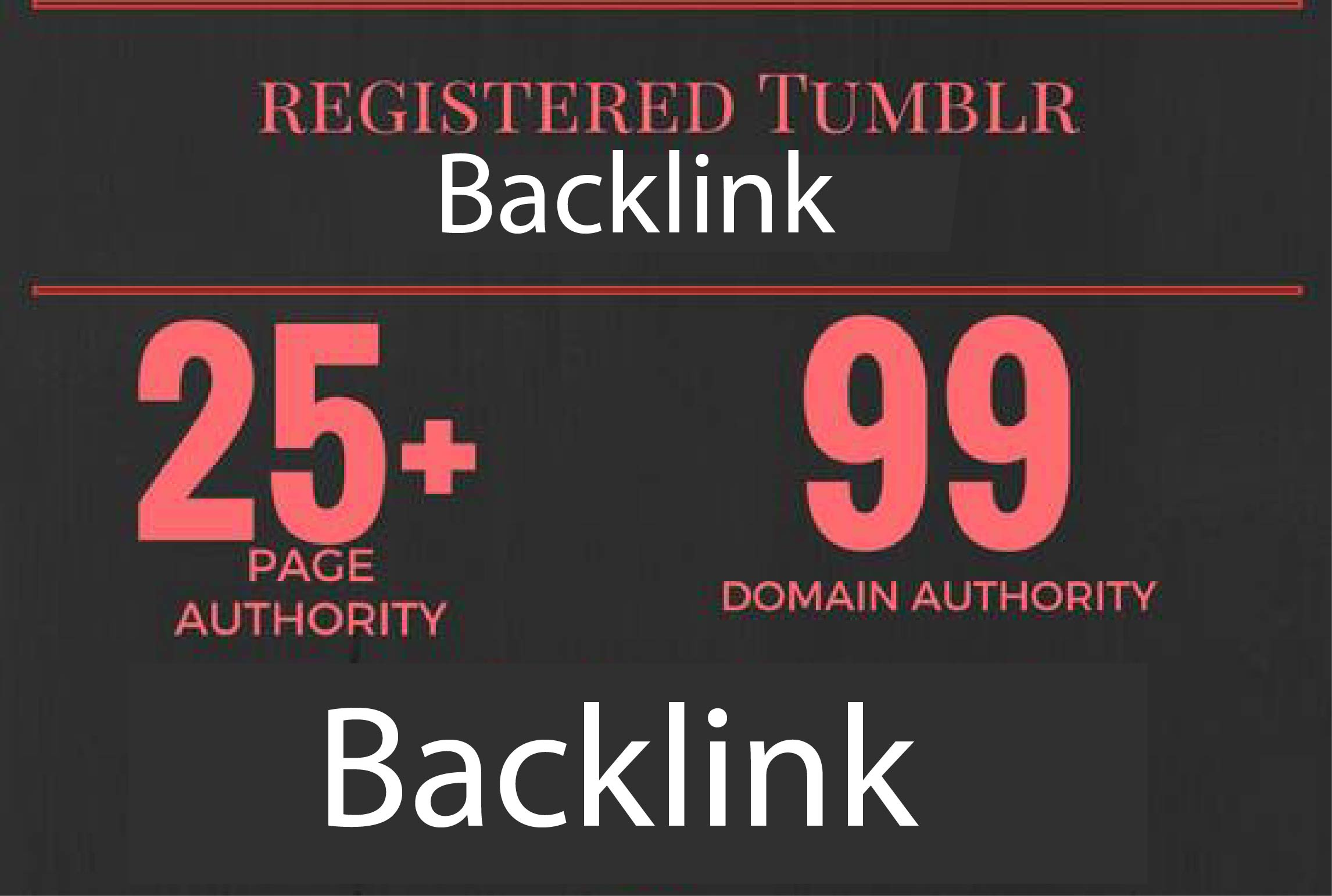 Build 30 page authority 27+ Super Authority manual web 2, 0 Backlink Tumbler Blog Boost rank