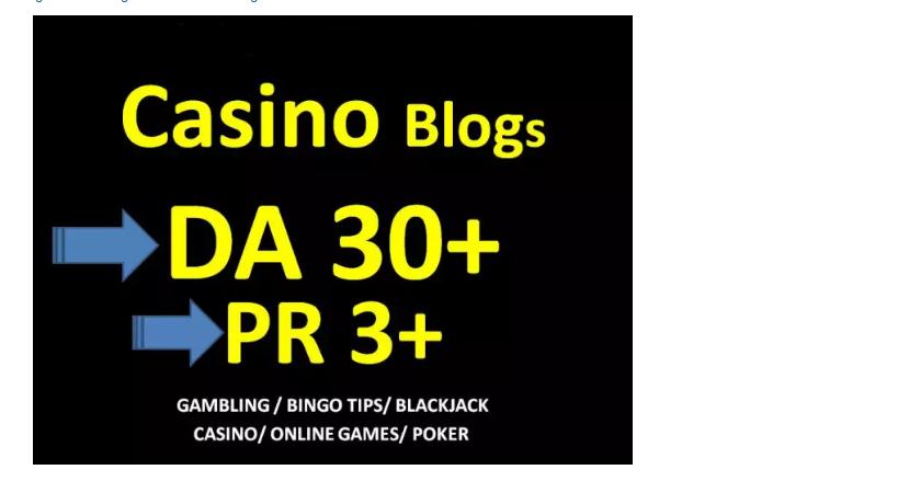 do Guest Post on DA 30 Casino High Quality Blog