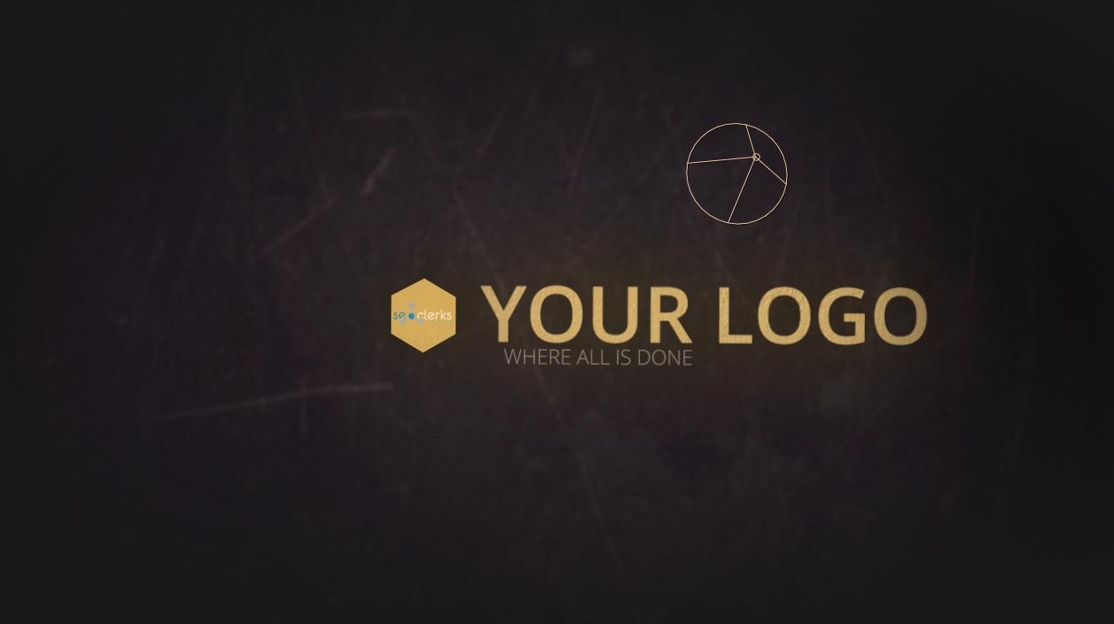 I will create Unique Grungy Retro style Logo Intro