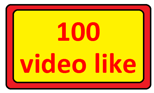 Add 100+video likes super fast refill guaranteed only