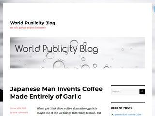 World Publicity Blog
