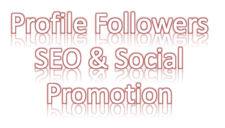 Social media Followers promotion