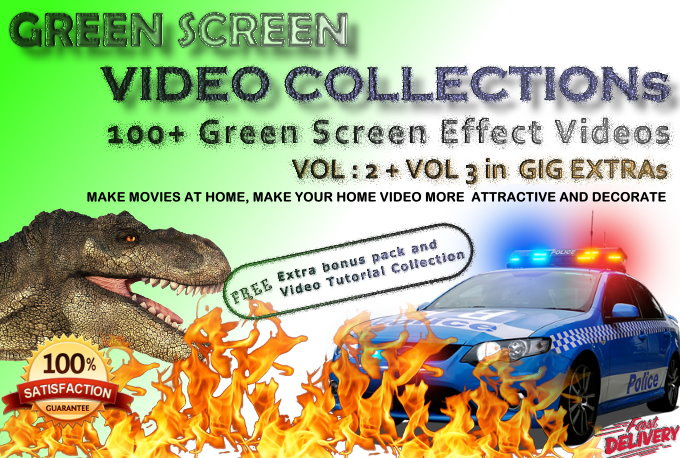 200+ GREEN Screen Effect Videos
