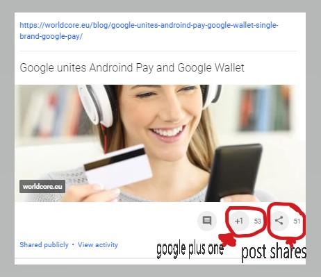 do 260 seo social google-shares & ones google boost your link
