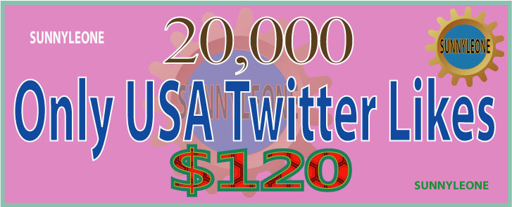 Give you 20,000 Only USA  Twitter Likes