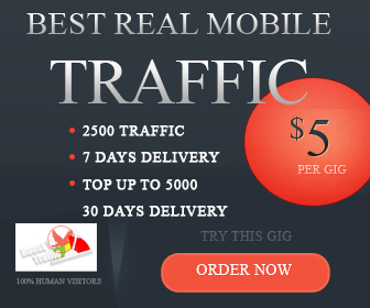 Send US MOBILE Traffic To Your Website