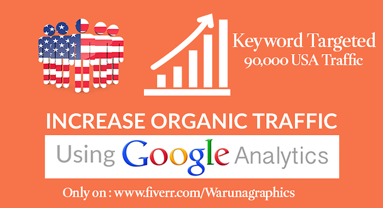 100,000 Keyword targeted Organic traffic from USA By Google Yahoo Bing