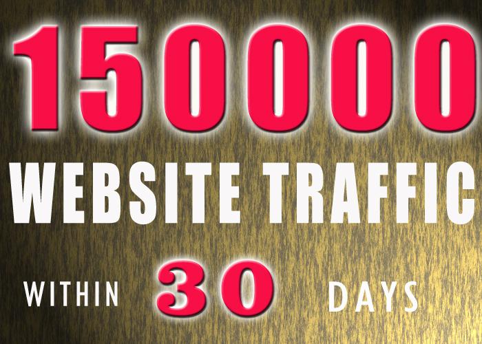 150000 WEBSITE TRAFFIC
