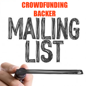 5000 REAL HUMAN CROWDFUNDING BACKER EMAIL MARKETING LIST